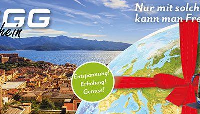 Gegg Reise-Gutscheine – Geschenke die Freude machen!